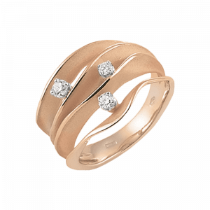 Annamaria Cammilli, Essential, Dune, Ring Orange Gold, GAN1422J