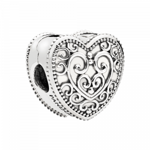 Pandora, Enchanted Nature, Charm-Anhänger Enchanted Heart, 797024