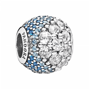 Pandora, Essence of Life, Charm-Anhänger Blue Enchanted Pavé, 797032NABMX