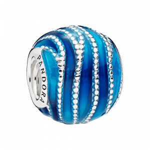 Pandora, Essence of Life, Charm-Anhänger Blue Swirls, 797012ENMX