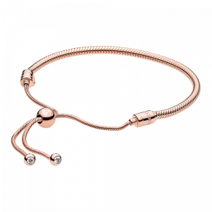 Pandora, Icons, Armband Moments PANDORA Rose Sliding Bracelet, 587125CZ-2
